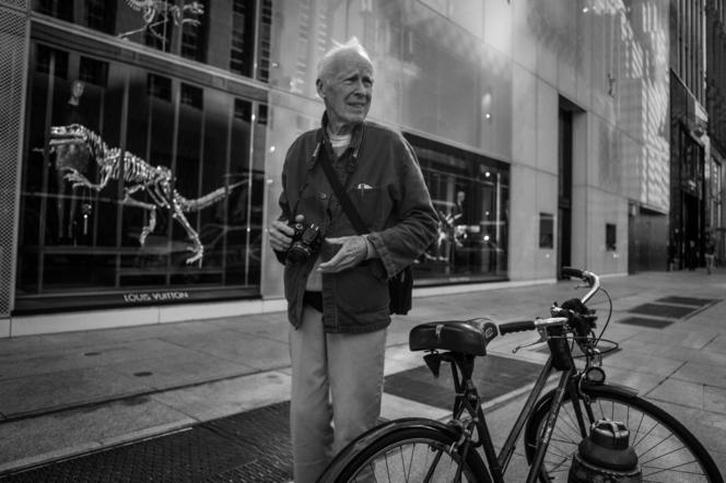 Bill Cunningham hunting…