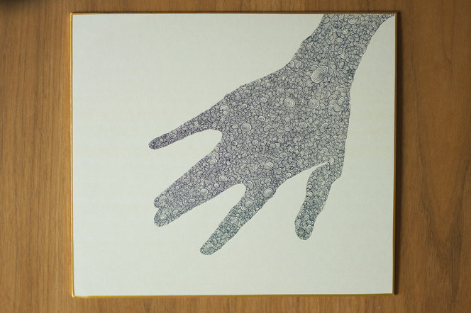 Two Hand Drawings