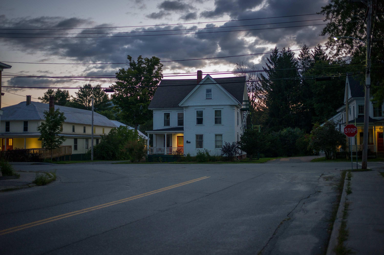 Johnson, VT (Three Houses) 2014