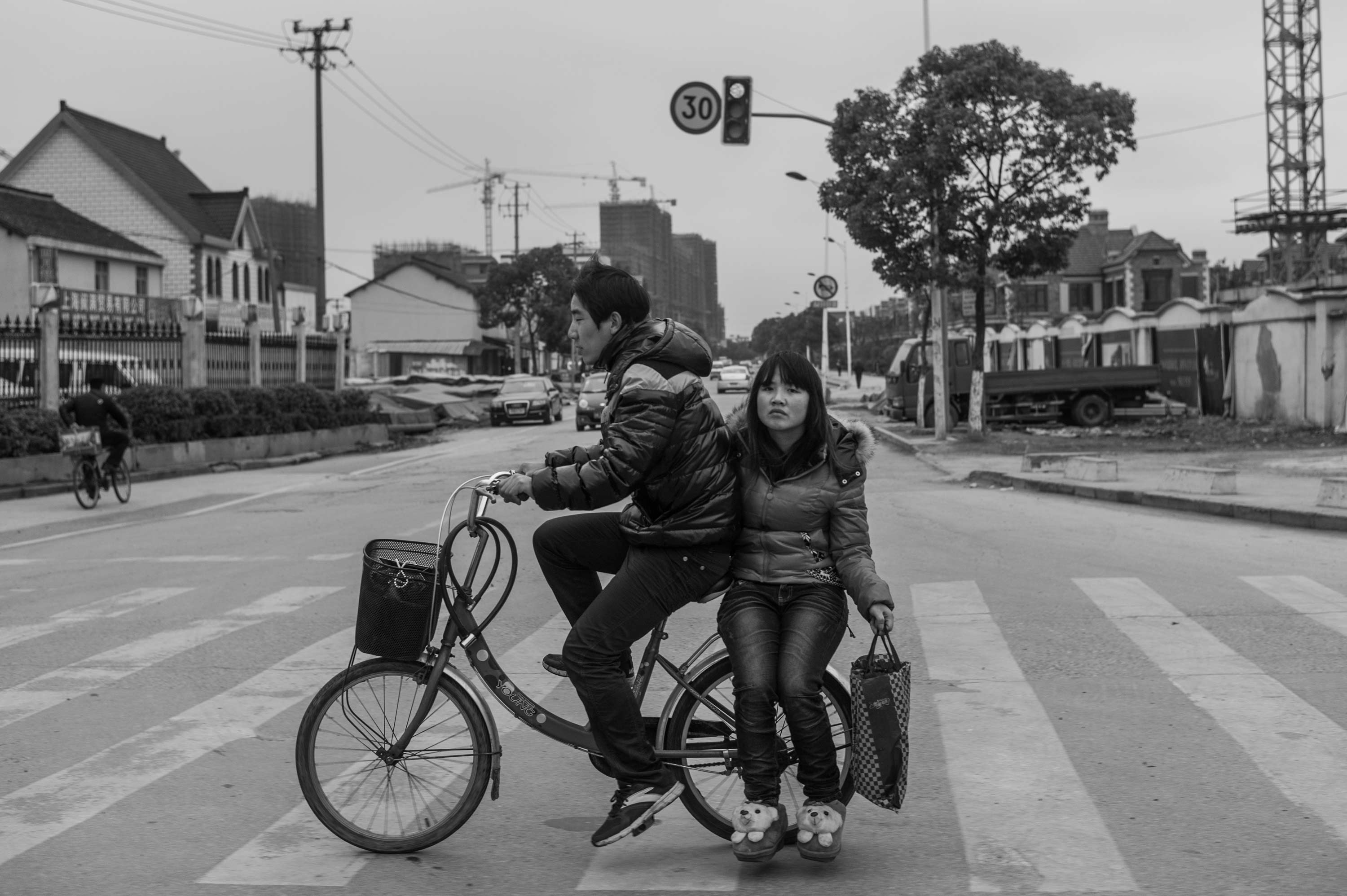 Shanghai (In the back of a Bicycle) 2012